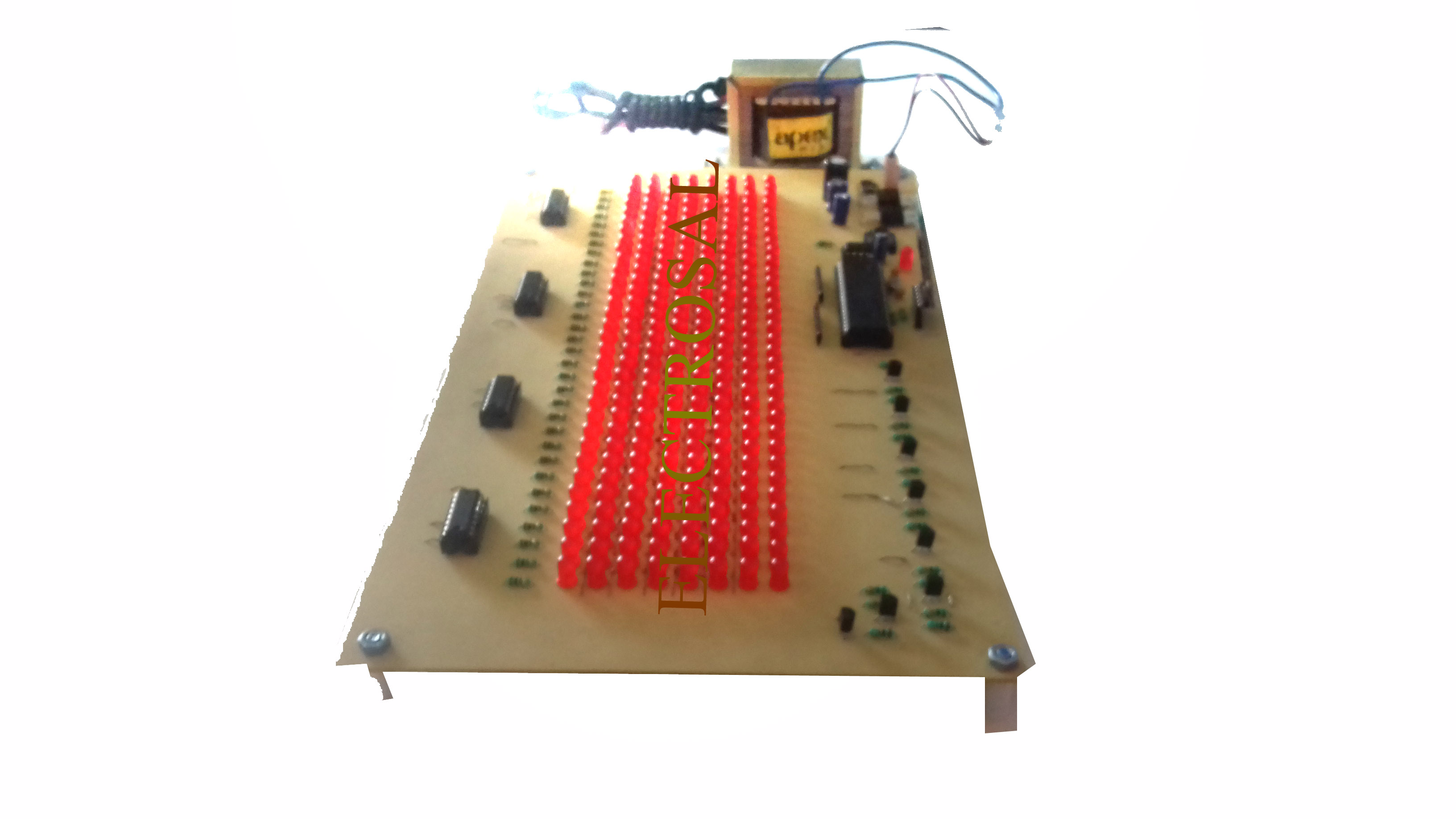 Scrolling Led Display Or Notice Board Using Android Phone Electrosal Circuit Prev