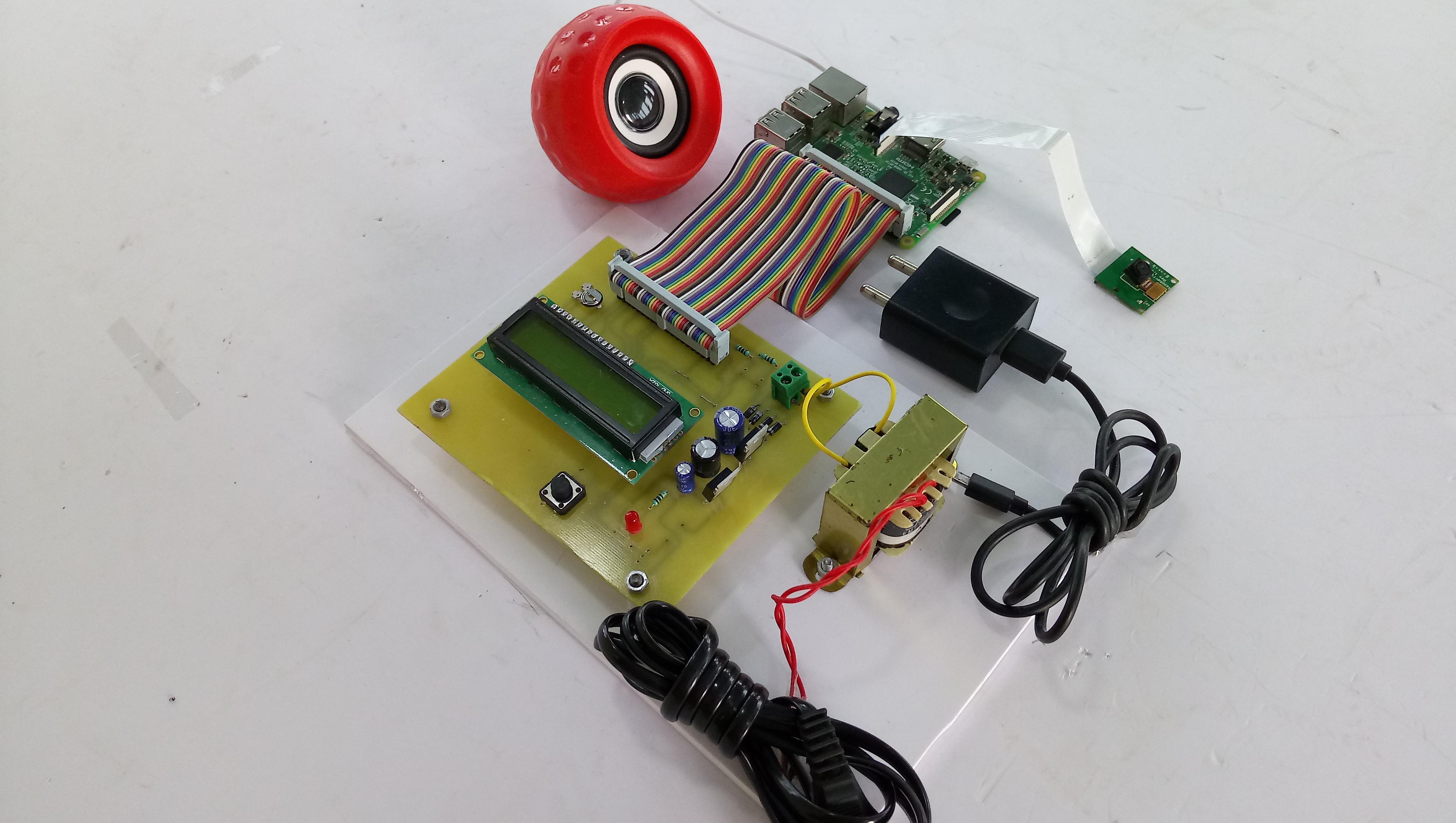 Raspberry Pi For Blind Reader Electrosal